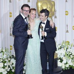 Michel Hazanavicius / Bérénice Bejo / Thomas Langmann / 84rd Annual Academy Awards - Oscars / Oscarverleihung 2012 Poster