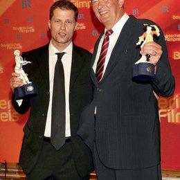 30. Verleihung des Bayerischen Filmpreises 2009 in München / Til Schweiger und Bernd Eichinger Poster