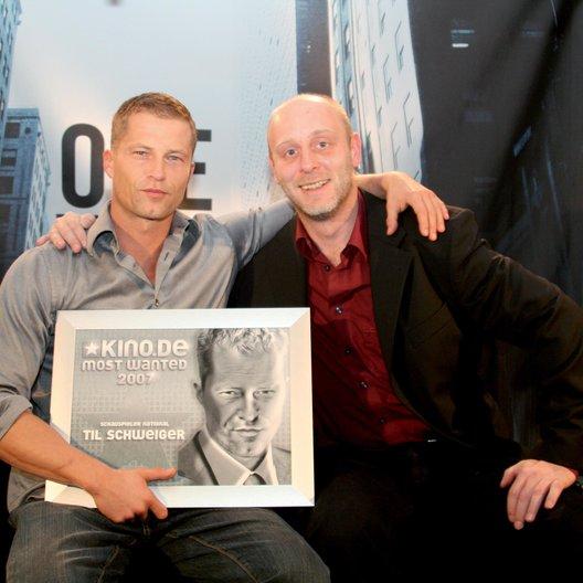 KINO.De-Most-Wanted-Preis 2006 / Til Schweiger / Hans Fuchs