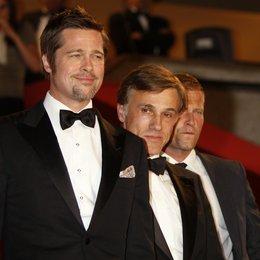 Pitt, Brad / Waltz, Christoph / Schweiger, Til / 62. Filmfestival Cannes 2009 / Festival International du Film de Cannes