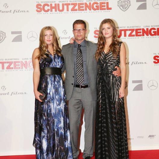 """Premiere von """"Schutzengel"""" in Berlin / Luna, Til und Lilli Schweiger"""