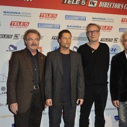 TELE 5 Director's Cut / Jo Baier, Til Schweiger, Leander Haußmann, Roland Emmerich (v.l.)