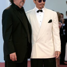 Burton, Tim / Depp, Johnny / 64. Filmfestspiele Venedig 2007 / Mostra Internazionale d'Arte Cinematografica Poster