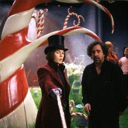 Charlie und die Schokoladenfabrik / Johnny Depp / Tim Burton / Set Poster