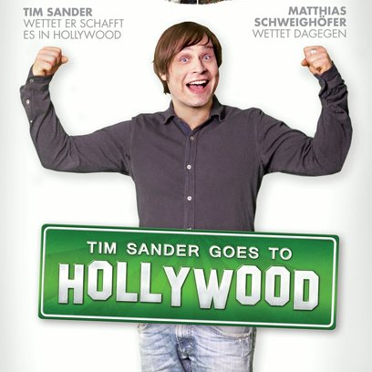Tim Sander Goes to Hollywood Poster