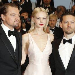 DiCaprio, Leonardo / Mulligan, Carey / Maguire, Tobey / 66. Internationale Filmfestspiele von Cannes 2013 Poster