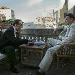 """Anatole Taubmann als Hollywood-Agent und Tobias Moretti als Trenker in """"Luis Trenker - Der schmale Grat"""" Poster"""