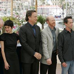 Da Vinci Code Team / 59. Filmfestival Cannes 2006 / Audrey Tautou / Tom Hanks / Ron Howard / Brian Grazer / Jean Reno Poster