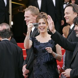 Da Vinci Code Team / 59. Filmfestival Cannes 2006 / Paul Bettany / Rita Wilson / Tom Hanks / Alfred Molina