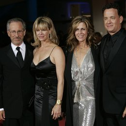 Filmfestspiele Venedig 2004 / Steven Spielberg / Kate Capshaw / Rita Wilson / Tom Hanks / Eröffnungsfilm Terminal Poster