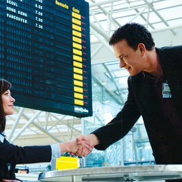 Terminal / Catherin Zeta-Jones / Tom Hanks Poster