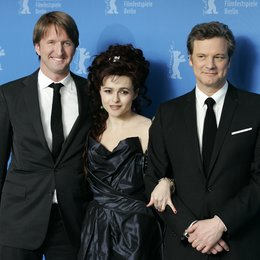 Tom Hooper / Helena Bonham Carter / Colin Firth / 61. Filmfestspiele Berlin 2011 / Berlinale 2011