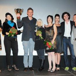 19. Filmfest Oldenburg / Mira Sorvino, Lana Morgan, Jan Ole Gerster, Tamar Simon Hoffs, Debbie Rochon, Alexander Wadouh und Tom Schilling Poster
