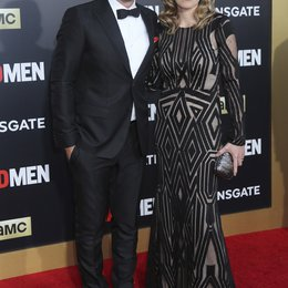 "Burrell, Ty / Burrell, Holly / AMC Celebration der finalen 7. Staffel von ""Mad Men"", Los Angeles Poster"