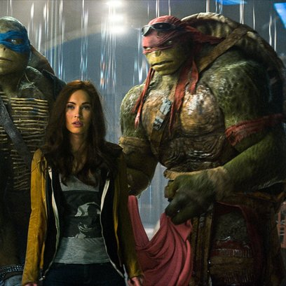 Teenage Mutant Ninja Turtles / Megan Fox Poster