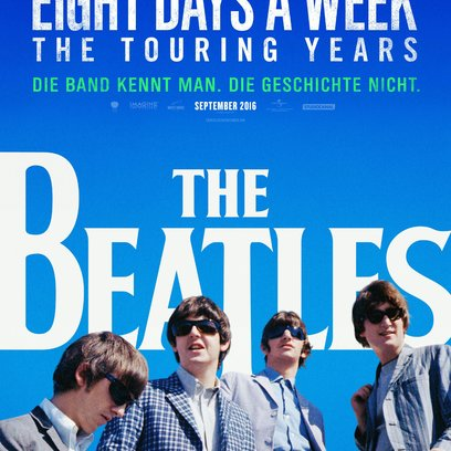 Beatles: Eight Days a Week - The Touring Years, The Poster