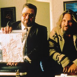 Big Lebowski, The / John Goodman / Jeff Bridges Poster