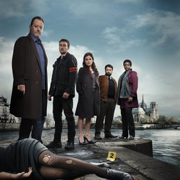 Cop - Crime Scene Paris, The / The Cop - Crime Scene Paris (1. Staffel, 8 Folgen) / Jean Reno / Tom Austen / Orla Brady / Celyn Jones / Wunmi Mosaku Poster