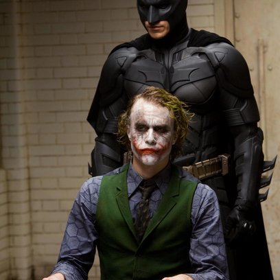 Dark Knight / Christian Bale / Heath Ledger Poster