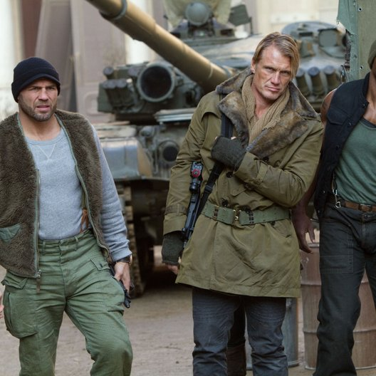 Expendables 2, The / Randy Couture / Dolph Lundgren / Terry Crews
