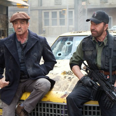 Expendables 2, The / Sylvester Stallone / Chuck Norris Poster