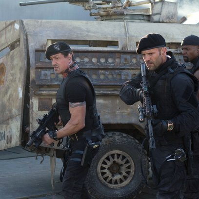 Expendables 2, The / Sylvester Stallone / Jason Statham / Terry Crews Poster
