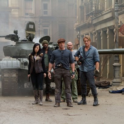 Expendables 2, The / Yu Nan / Terry Crews / Sylvester Stallone / Randy Couture / Dolph Lundgren Poster