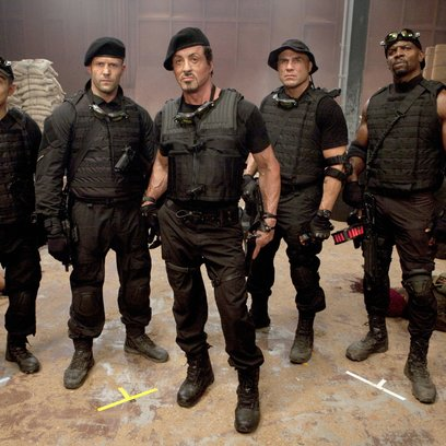 Expendables / Jet Li / Jason Statham / Sylvester Stallone / Randy Couture / Terry Crews Poster