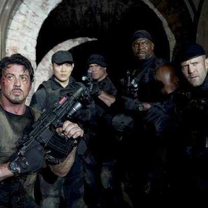 Expendables / Sylvester Stallone / Jet Li / Randy Couture / Terry Crews / Jason Statham / The Expendables 1 & 2 Poster