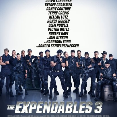 Expendables 3, The Poster