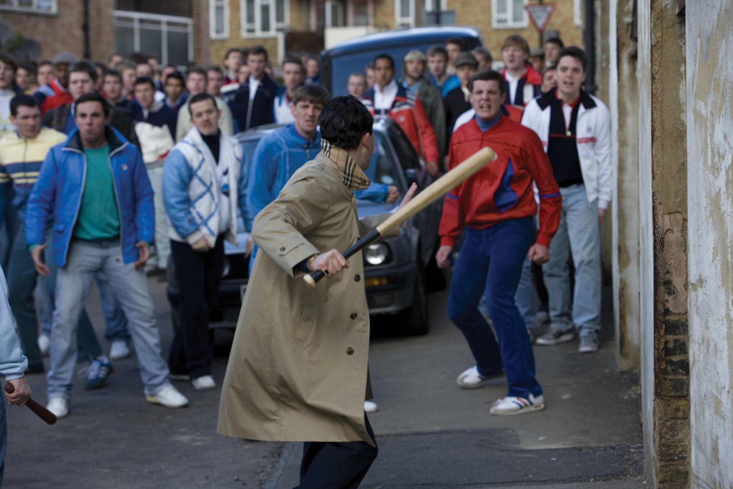football hooligans Definition of football hooliganismin accordance with the work a dictionary of law, this is a description of football hooliganism : the sporting events (control of alcohol etc) act 1985 contains finable offences of possessing alcohol.
