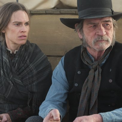 Homesman, The / Hilary Swank / Tommy Lee Jones Poster