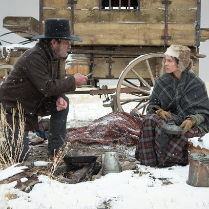 Homesman, The / Tommy Lee Jones / Hilary Swank Poster