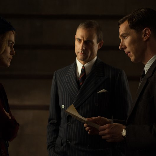 Imitation Game - Ein streng geheimes Leben, The / Imitation Game, The / Keira Knightley / Mark Strong / Benedict Cumberbatch