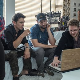 Interview, The / Set / James Franco / Evan Goldberg / Seth Rogen Poster