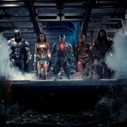 Justice League, The Poster