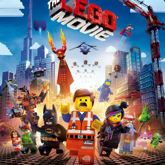 Lego Movie, The / Lego 3D Poster