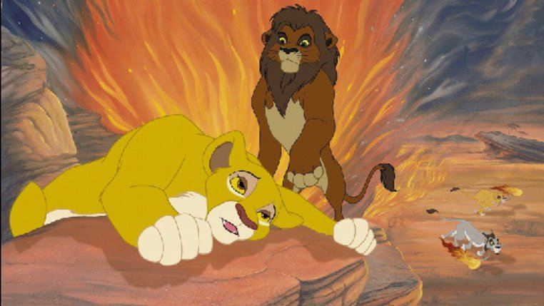 The Lion King II: Simba's Pride Film (1998) · Trailer ...