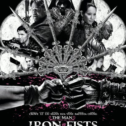 Man with the Iron Fists, The Poster