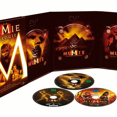 Mumie Trilogie, Die / The Mummy / The Mummy Returns / Mummy: Tomb of the Dragon Emperor Poster