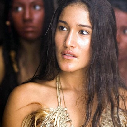 New World, The / Q'Orianka Kilcher Poster