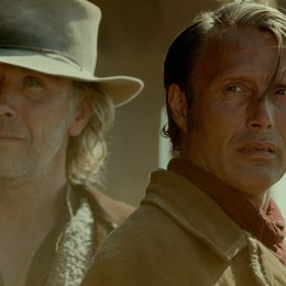 Salvation - Spur der Vergeltung, The / Salvation, The / Mikael Persbrandt / Mads Mikkelsen Poster