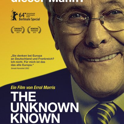 Unknown Known, The Poster