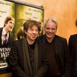 Andres Veiel,Thomas Kufus und Matthias Elwardt (v.l.) Poster