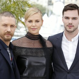 Hardy, Tom / Theron, Charlize / Hoult, Nicholas / 68. Internationale Filmfestspiele von Cannes 2015 / Festival de Cannes Poster