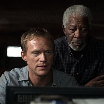Transcendence / Paul Bettany / Morgan Freeman Poster