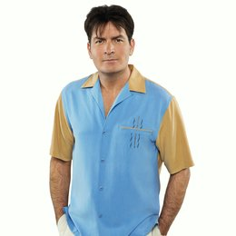 Two and a Half Men: Mein cooler Onkel Charlie - Die komplette erste Staffel / Charlie Sheen Poster