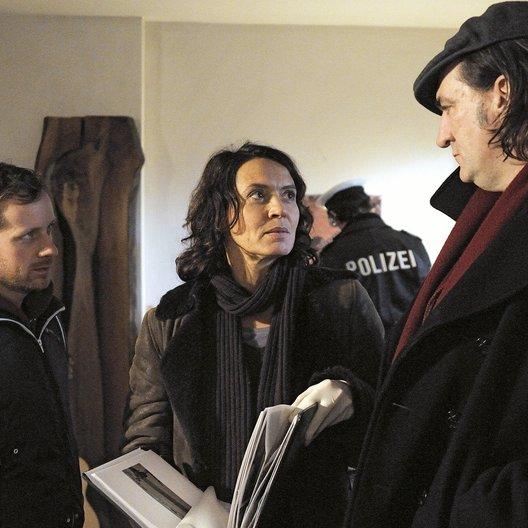 Tatort: Der Schrei / Andreas Hoppe / Ulrike Folkerts / Fabian Busch Poster