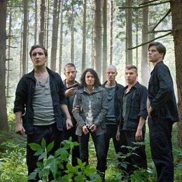 Tatort: Der Wald steht schwarz und schweiget / Ulrike Folkerts / Frederick Lau / Adrian Saidi / Tómas Lemarquis / Edin Hasanovic / Theo Trebs