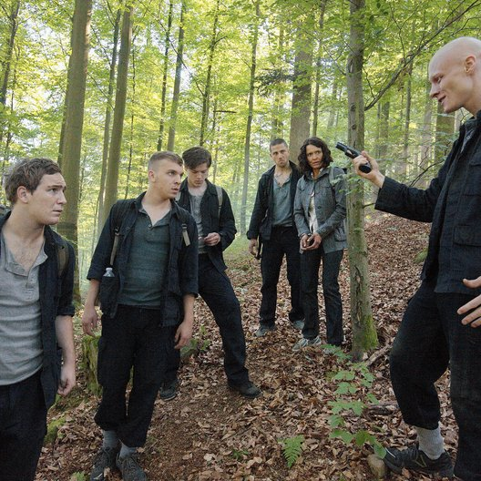 Tatort: Der Wald steht schwarz und schweiget / Ulrike Folkerts / Frederick Lau / Adrian Saidi / Tómas Lemarquis / Edin Hasanovic / Theo Trebs Poster